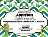 Three Digit Addition Task Cards