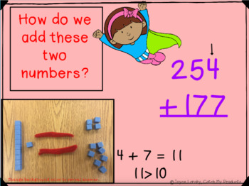 Addition with Regrouping Power Point