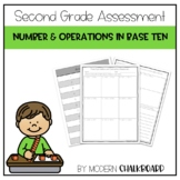 Three Digit Addition and Subtraction Assessment 2.NBT.B.7