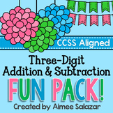 Three Digit Addition and Subtraction
