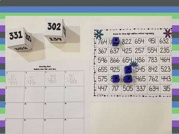 Three-Digit Addition and Subtraction Games Bundle