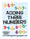 Three Digit Addition and Subtraction Math Facts