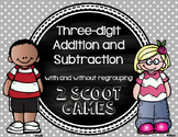 Three-Digit Addition and Subtraction SCOOT