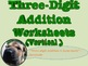 Three Digit Addition and Subtraction Worksheet Bundle (60 pages)