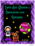 Three-Digit Addition and Subtraction with Regrouping