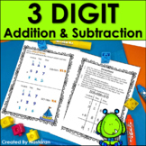 Three-Digit Addition and Subtraction Worksheets