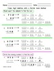Three Digit Addition with Regrouping using Partial Sums / Break Apart Method