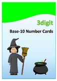 Three Digit Base-10 Number Cards
