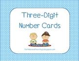 Three-Digit Number Cards