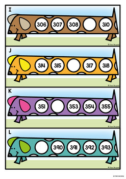 Three Digit Number Activity {Sequencing Ordering Numbers}