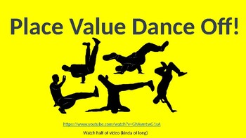 Three Digit Place Value-Dance Off Themed