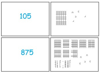 Three Digit Place Value Matching Cards