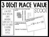 Three Digit Place Value SCOOT