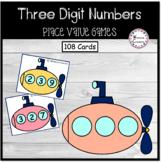 Three Digit Place Value Submarines