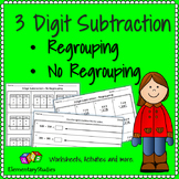 3 Digit Subtraction