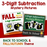 Fall Math Color By Number Addition, Back To School Mystery Pictures Bundle