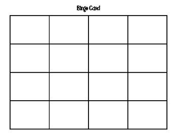 Three Digit Subtraction Bingo