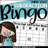 Three Digit Subtraction Bingo (with regrouping)