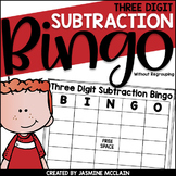 Three Digit Subtraction Bingo (without regrouping)