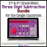 Three Digit Subtraction Bundle Google Apps Distance Learning