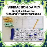 Three Digit Subtraction Games