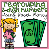 2nd Grade Subtraction with Regrouping 3-Digit Numbers Math Center