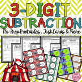 Three Digit Subtraction Packet
