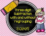 Three-Digit Subtraction SCOOT