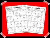 Three Digit Subtraction Worksheet with and without Regrouping