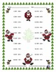 Three Digit Subtraction - Christmas Themed Worksheets - Ho