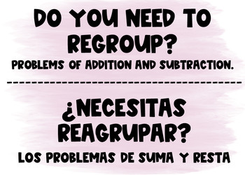 Three Digit Subtraction with Regrouping Bilingual Boom Cards