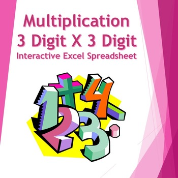 Three Digit by Three Digit Multiplication/Graph Paper: F9 Makes New Worksheet