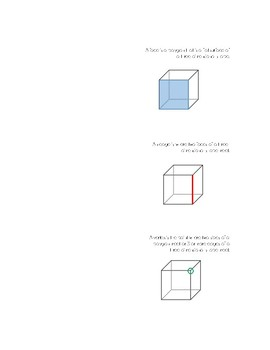 Three-Dimensional (3D) Shapes Attributes Foldable