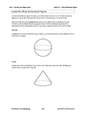 Three-Dimensional Figures (Lesson 45 of 61)