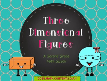 Three Dimensional Figures PowerPoint