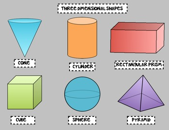 Three Dimensional Shape Freebie!!!