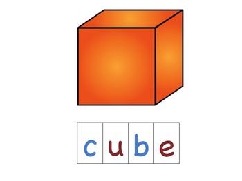 Three Dimensional Shape Spelling