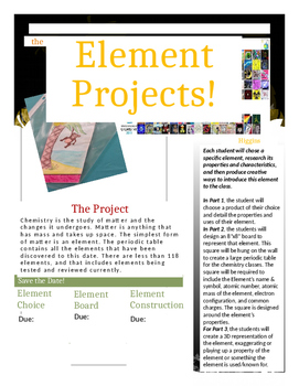 Three Element Projects