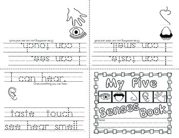 Emergent Readers - 3 Leveled Books with Writing Prompts and Activities