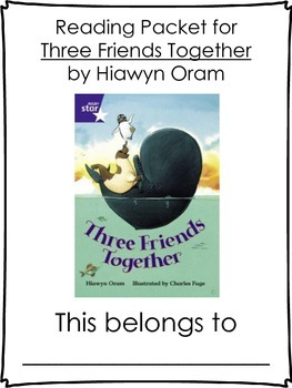 Three Friends Together Literature Packet