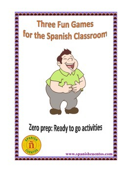 Three Fun Games for the Spanish Classroom