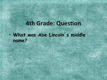 Three Digital Classroom Games: Editable, Jeopardy, Millionaire, 4th Grader
