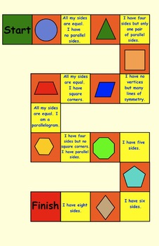 Three Geometry Games for Primary Students