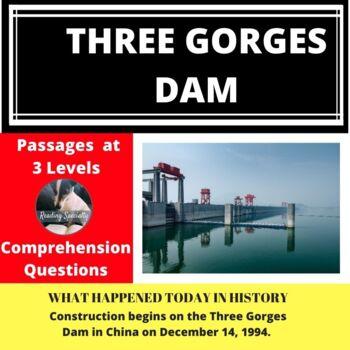 Three Gorges Dam Differentiated Reading Passage December 14