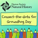 Three Groundhog Connect the Dots Activities