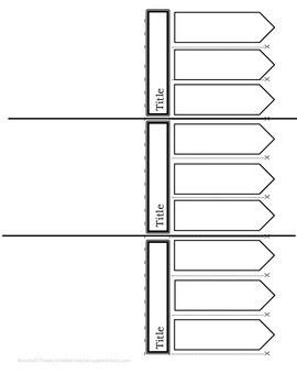 Three-Item Foldable