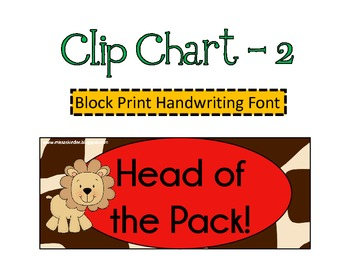 Three Jungle Clip Charts!
