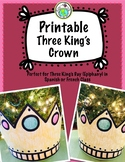 Three King's Day Epiphany Printable Crown