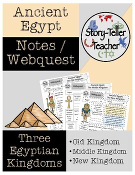 Three Kingdoms of Egypt (Old, Middle, New) Worksheets