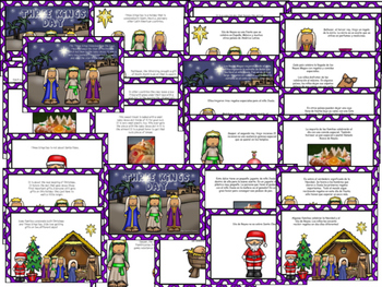 Three Kings Day Power Point and Play - Print and Use as a Picture Book!